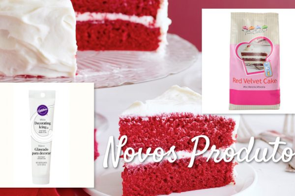 Red Velvet Mix & Royal Icing pronto a usar