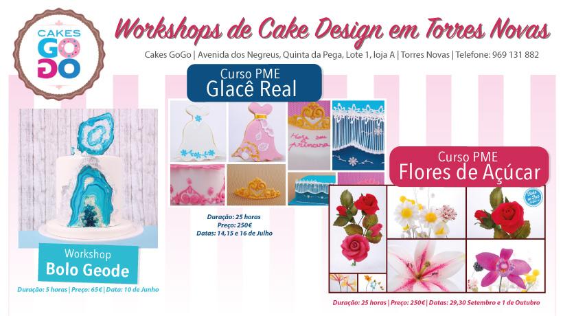 Formação cake Design Torres Novas
