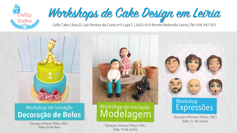 Workshops cake design leiria