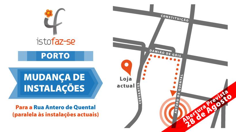 Mapa Istofaz-se Porto