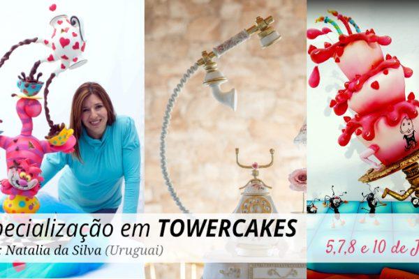 TOWERCAKES – Natalia da Silva – 5 a 10 de Julho