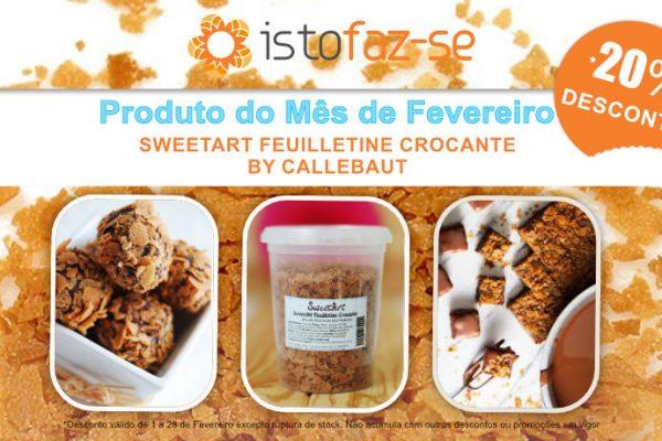 Qual é coisa, qual é ela que é doce e crocante… e está com desconto porque é o produto do mês? :)