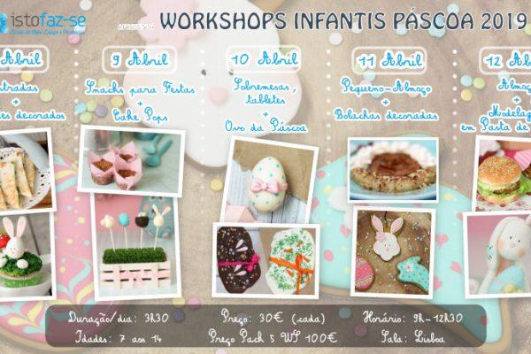 Ateliers Infantis de Páscoa, um mundo doce e colorido na palma da mão :)