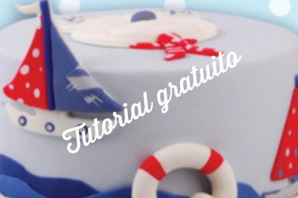 Tutorial gratuito – Bolo do Mar