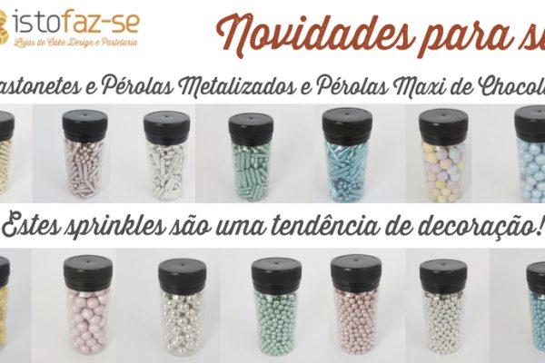 Produtos Novos para começar bem o ano – Estes sprinkles são a tendência de decoração!