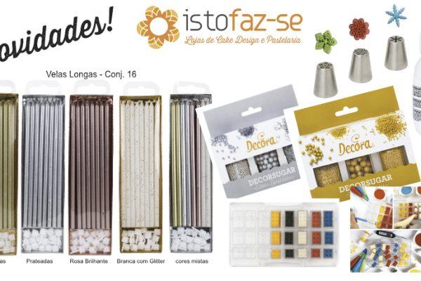 Produtos Novos para começar bem o ano – Novidades nas Lojas como pãezinhos quentes! ;)