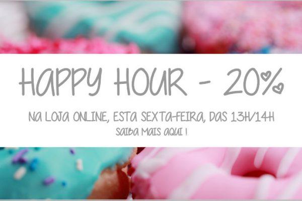 Já tinha saudades da Happy Hour?! 🙂