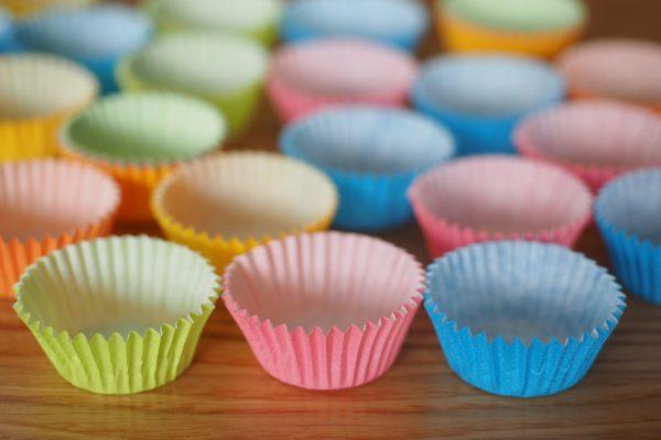 Tacinhas de cupcakes <3