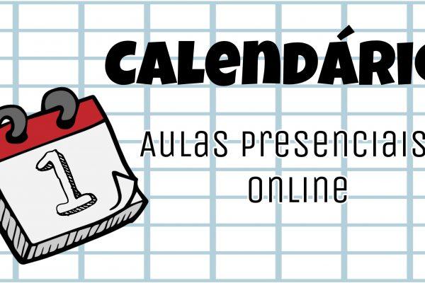 ⭐ Calendário já disponível!